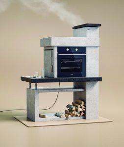 על האש בתנור הביתי
