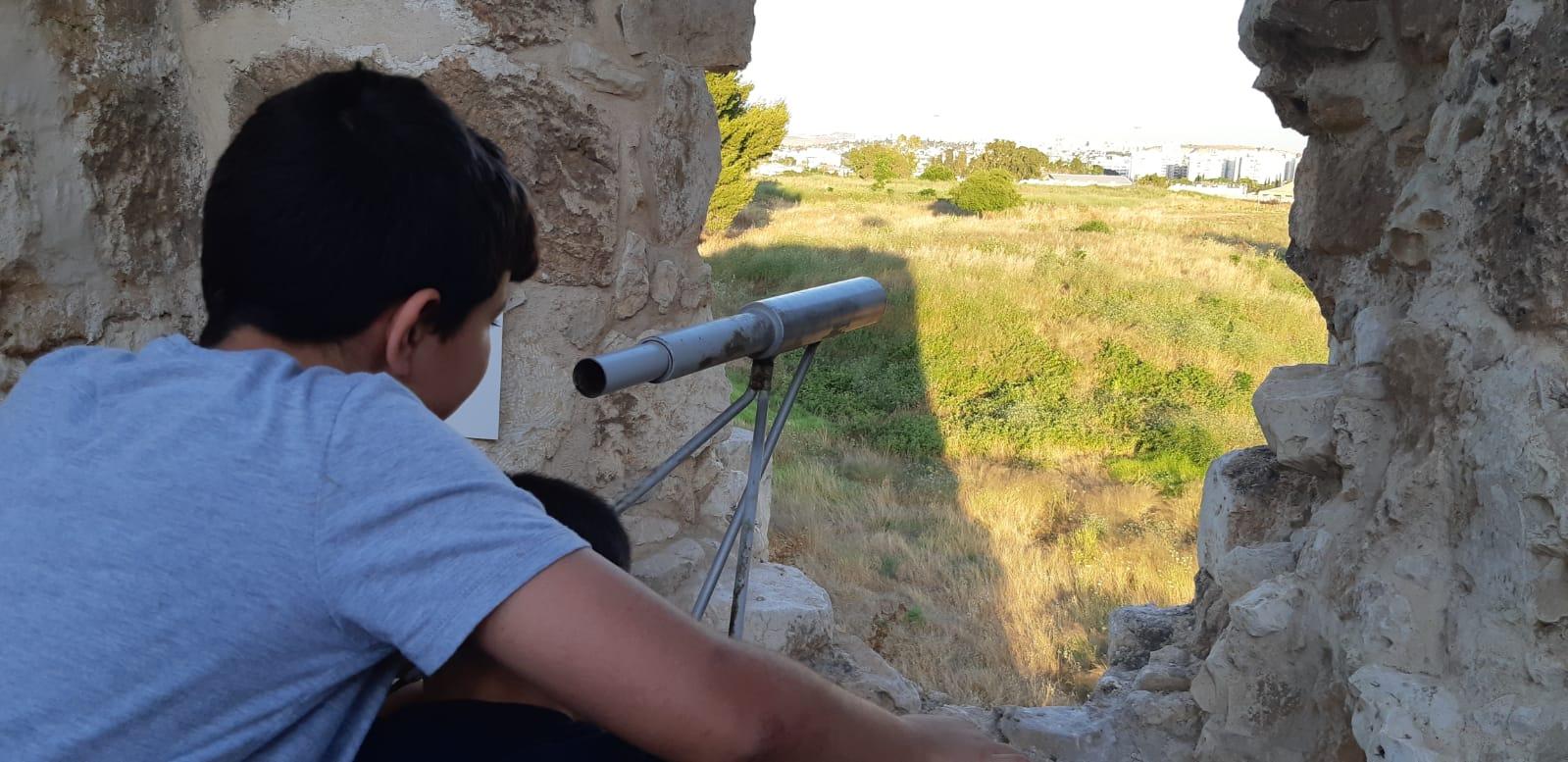 קיץ חוויתי תצפית מהמבצר