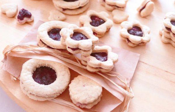 """עוגיות ריבה-קבלו מתכון קל ומנצח לחג ט""""ו בשבט."""