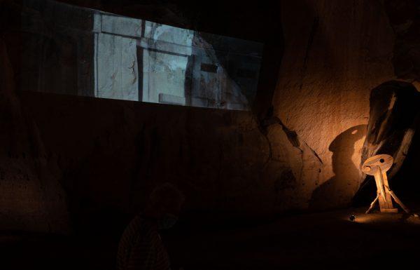 תערוכת צורות אנוש במערת הפעמון בגן לאומי בית גוברין